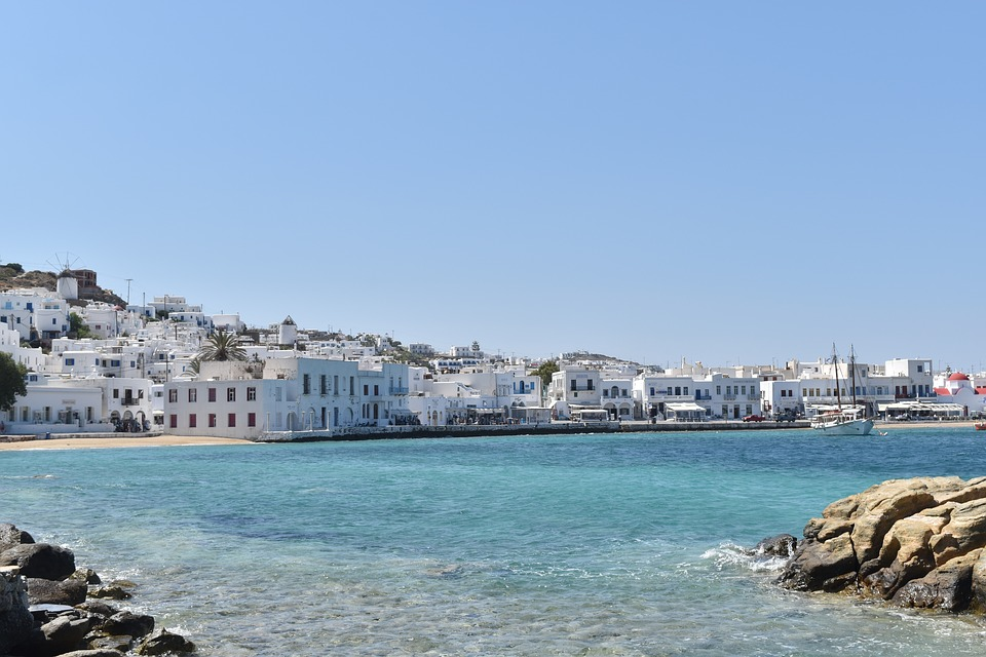 ilhas do mediterrâneo mykonos