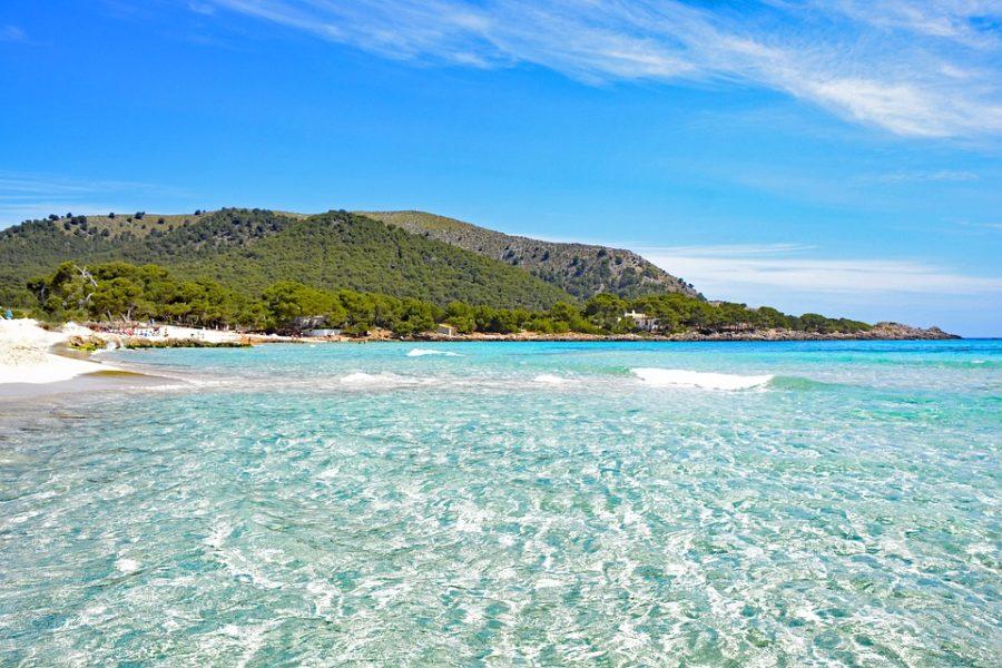 ilhas do mediterrâneo praia maiorca mallorca