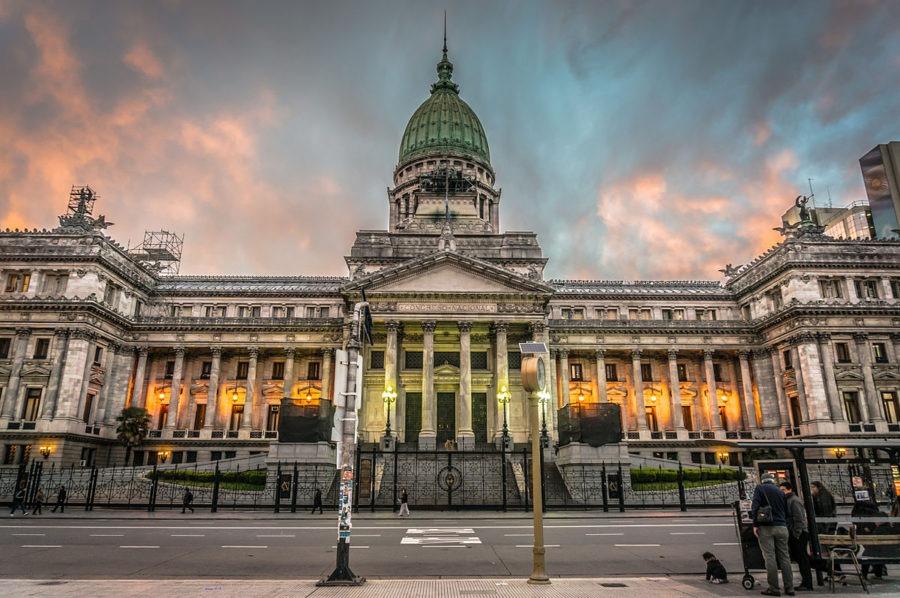pontos turísticos em Buenos Aires congreso de la nación